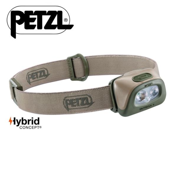 Petzl Tactikka + Hybrid fejlámpa, 250 lumen