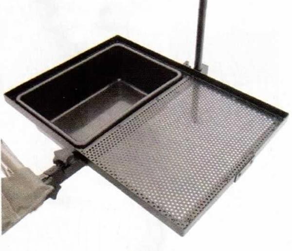 Carp Zoom Feeder Competition székre szerelhető csalitartó tálca és tál, CZ2029
