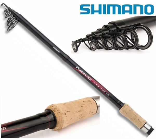 Shimano Vengeance AX Slim TE 330cm, 40-80g, teleszkópos bot, 2523106