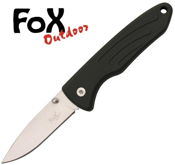 Fox egykezes bicska műanyag markolattal, oliv, 45751B