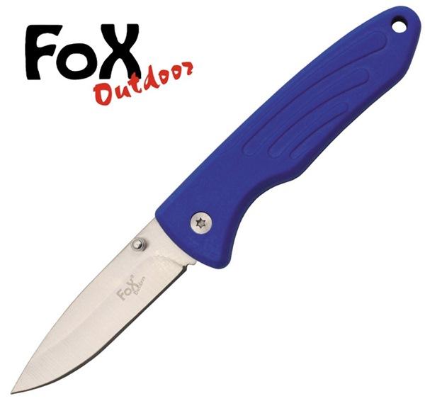 Fox egykezes bicska műanyag markolattal, kék, 45751G