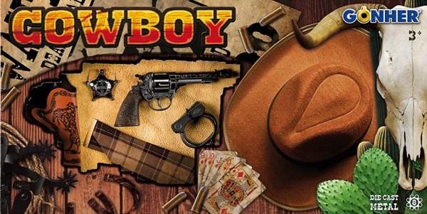 Vadnyugati cowboy szett kalappal, 880/0
