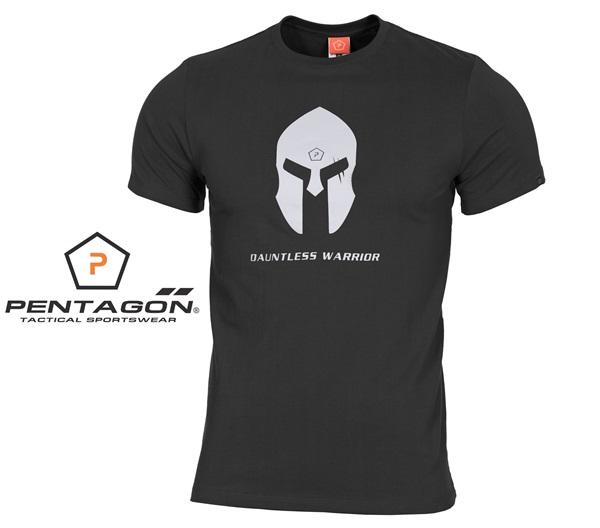 Pentagon Spártai taktikai póló, fekete, K09012SH