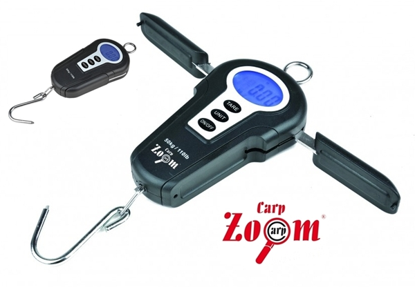 Carp Zoom digitális mérleg kihajtható fogantyúval, 50kg, CZ7970
