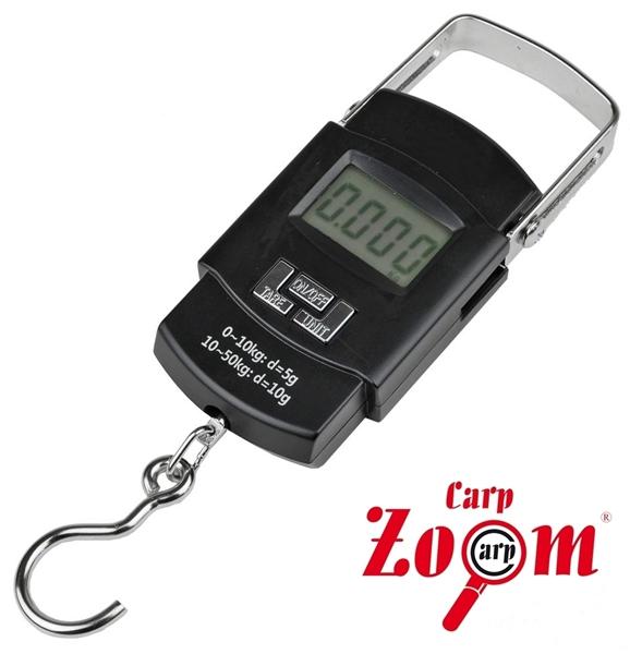 Carp Zoom digitális mérleg, 50kg, CZ8281