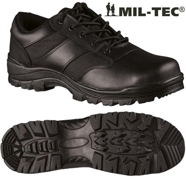 Security bőr félcipő, fekete, 12835000