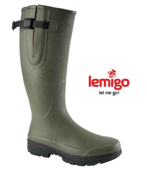 Lemigo Hunting kaucsuk unisex csizma, zöld, 106