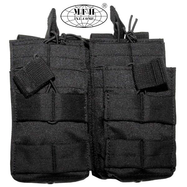 Molle moduláris táska, fekete, 30605A