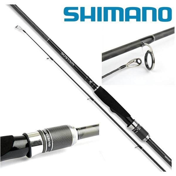 Shimano Sustain AX Spinning 190cm 3-14gr pergetőbot, 2524791