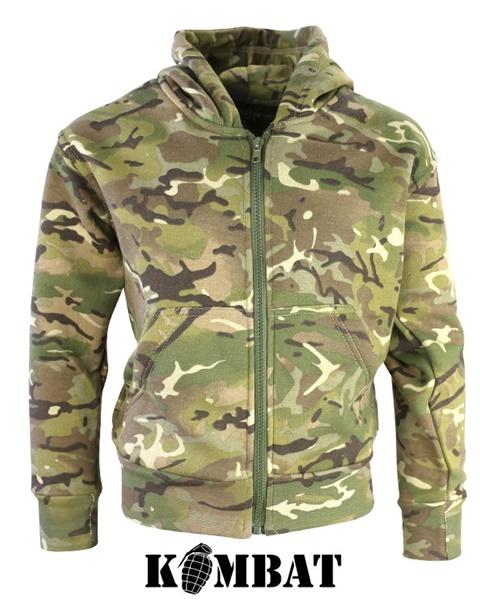 Kombat katonai gyerek pulóver, terepszínű, BTP