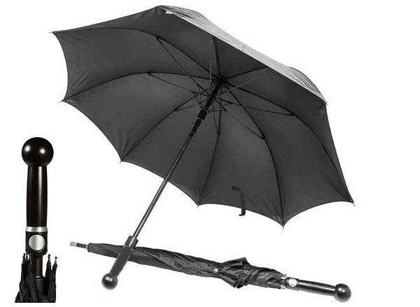 Önvédelmi esernyő bunkós markolattal, 78cm