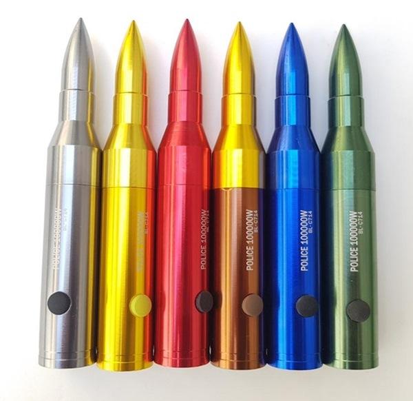 Lőszer formájú LED, aluminium rúdlámpa, 16cm-es, BL-C714