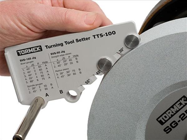 Tormek esztergaszerszám beállító, TTS-100