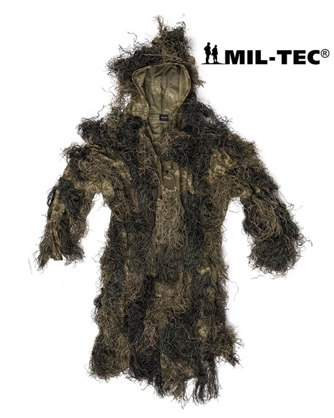 "Tűzálló álcakabát, parka ""Ghillie Suit"" Anti Fire, woodland, 11962100"