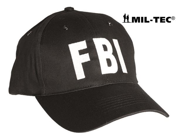 "Baseball sapka ""FBI"" felirattal, fekete, 12316092"