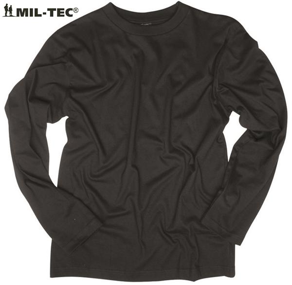 US hosszúujjú póló, fekete, 11065002