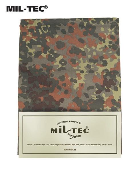 Katonai pamut ágyneműhuzat, flecktarn, 14410021