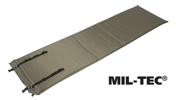 Önfelfújó, alátét matrac 3cm-es 185x50cm, oliv, 14420001