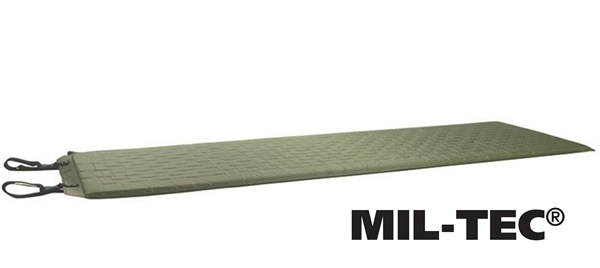 Önfelfújó, alátét matrac 2,5cm-es 185x50cm, oliv, 14420101