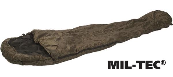 Kétrétegű múmia hálózsák 500g/m2 -10°C, oliv, 14110001