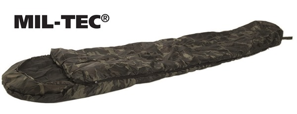 Kétrétegű múmia hálózsák 500g/m2 -10°C, woodland, 14110020