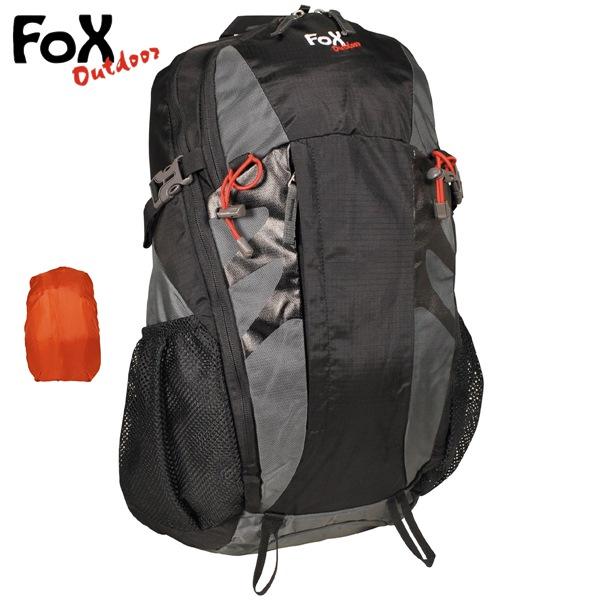 Arber 30 literes hátizsák, szürke-fekete, 30815M
