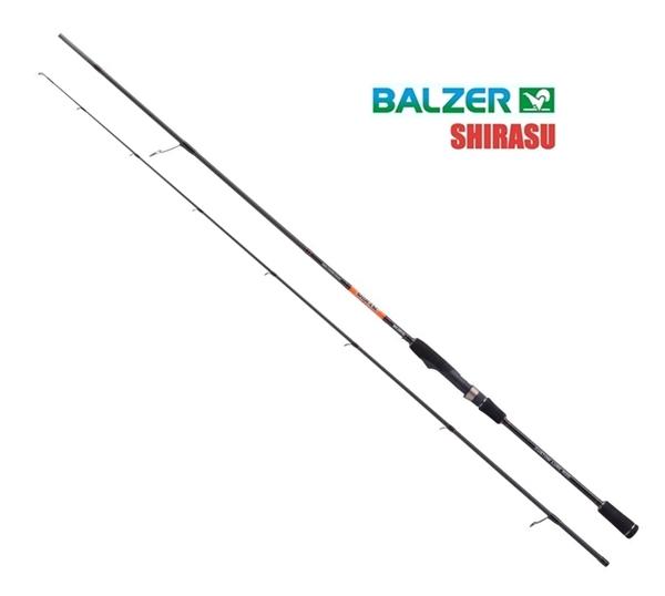 Balzer Shirasu Pro Staff Mini Crank Shad 1,96m 6-21g pergetőbot, 1566/196