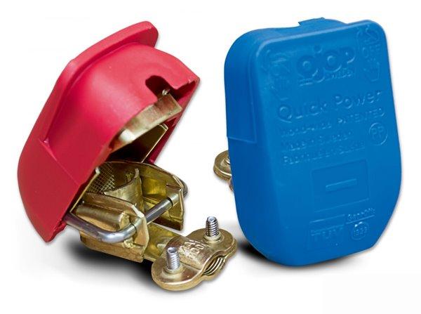 Univerzális akkumulátor gyorssaru piros/kék 901120