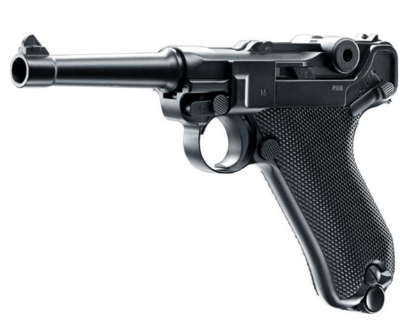 Luger P08 Parabellum CO2 légpisztoly, Blow-Back