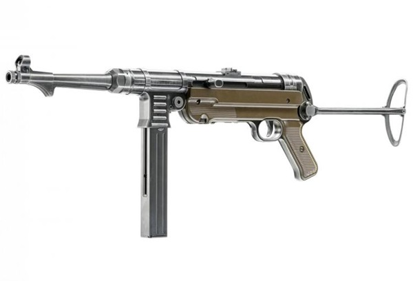MP40 German Legacy Edition Co2-es légpuska, Full auto, UM58325X