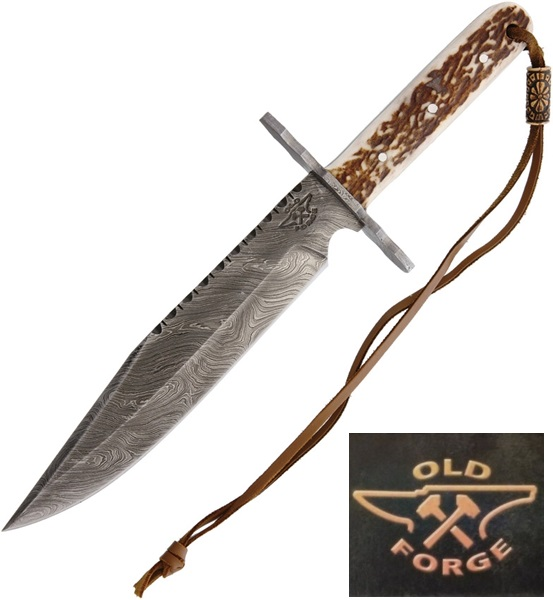 Old Forge Damascus Hunter, OF041