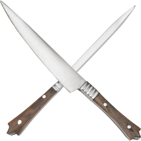 Középkori kés+nyárs szett, 80483