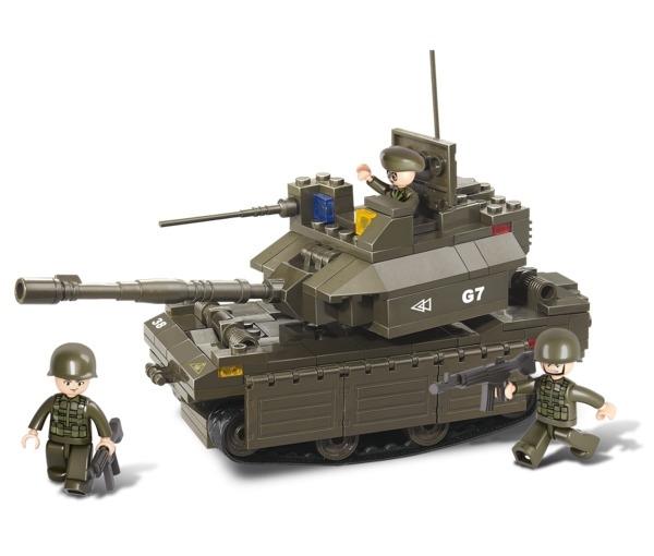 Sluban M1 Abrams tank építőjáték, B0287