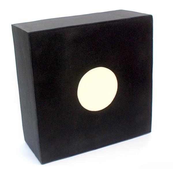 Polifoam vesszőfogó cserélhető középpel, 60x60x17 cm-es