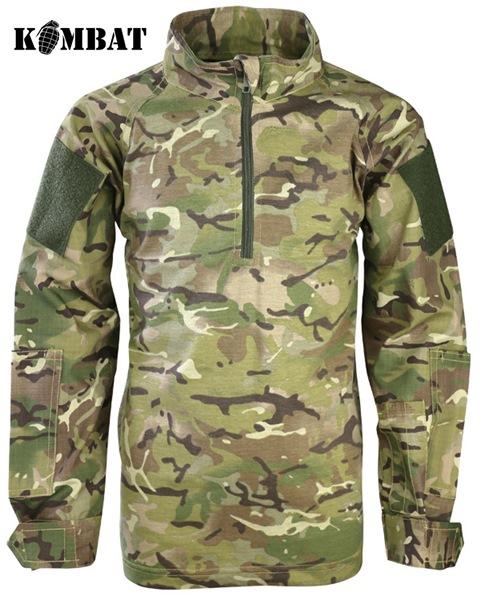 Kombat UBACS katonai gyerek pulóver, terepszínű, BTP