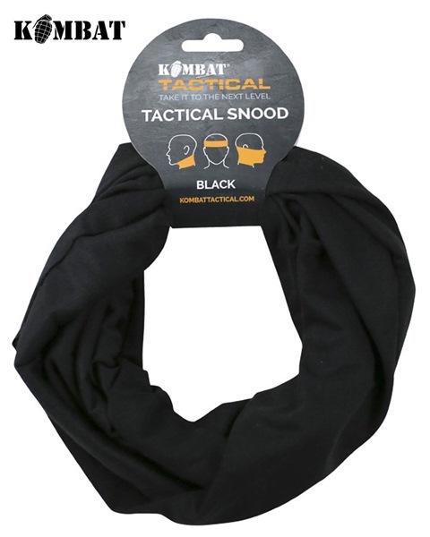Kombat csősál, 48x23cm, fekete