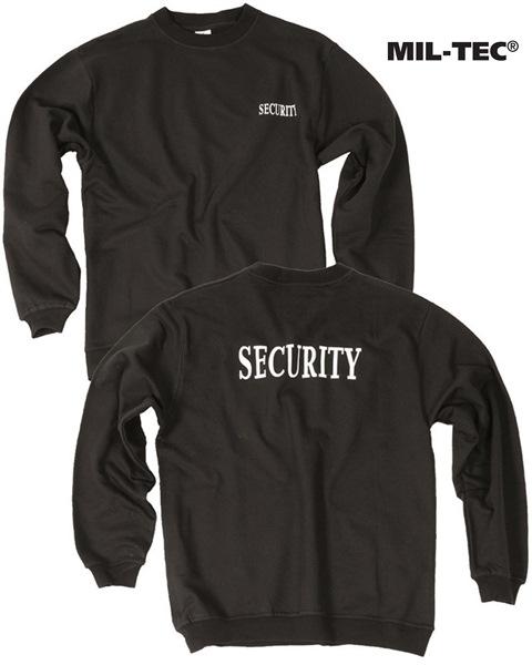 Security pulóver, fekete, 12060002