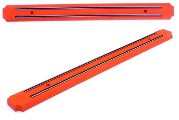 Mágneses késtartó, 48 cm-es, narancssárga