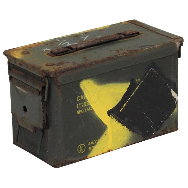 Eredeti US lőszertároló doboz, cal. 50 , M2A1, használt, 627940
