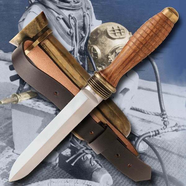 Windlass® Deep Sea Divers Knife, búvárkés, 420004