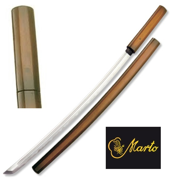 Marto Shirasaya Katana, Dark Wood, 202