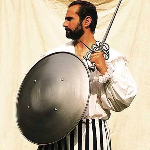 Windlass® Steel Shield, fém pajzs, 800176