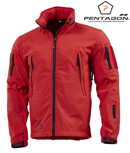 Pentagon Artaxes Soft-Shell taktikai kabát, piros, K08011