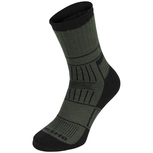 """Thermo zokni """"Alaska"""",olív, 13613B"""