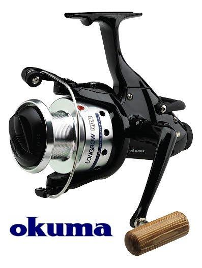 Okuma Longbow nyeletőfékes orsó LB-40, 21215