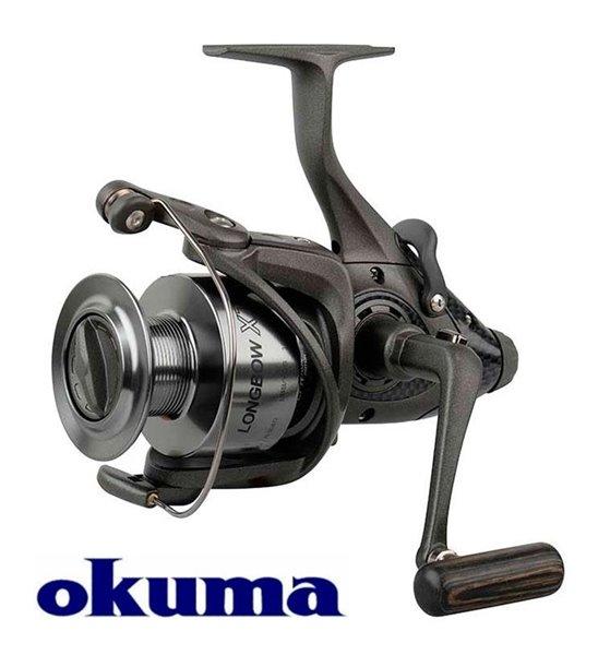 Okuma Longbow nyeletőfékes orsó XT-40, 54211