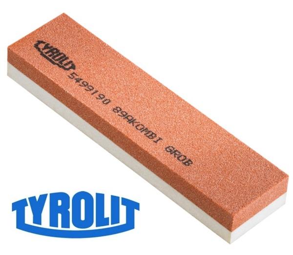 Tyrolit kétoldalas fenőkő, alu-oxyd, 120/400-as, 15 cm-es, 6315