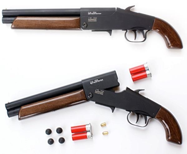 G-ShooT 4Matic Lupara gumilövedékes puska cserélhető tárral