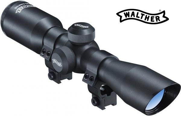 Walther 4X32 compact kispuska és légpuska távcső (9-11mm) szerelékkel, UM21521