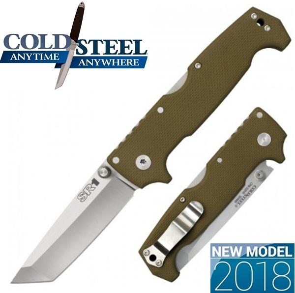 Cold Steel SR1Tanto, OD Green, 62LA